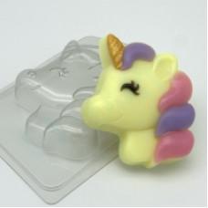"""""""Единорог"""", форма пластиковая для мыла"""