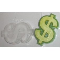 """""""Доллар"""", форма пластиковая для мыла"""