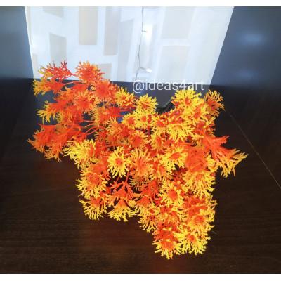 Ветка туи (оранжевый)