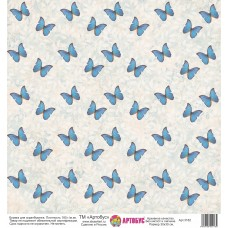 Бумага для скрапбукинга 30*30 см арт. 3182 180 г./м.кв.