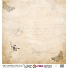 Бумага для скрапбукинга 30*30 см арт. 32162 180 г./м.кв.
