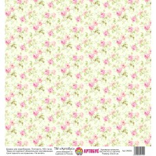 Бумага для скрапбукинга 30*30 см арт. 34555 180 г./м.кв.