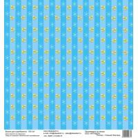 Бумага для скрапбукинга 30*30 см арт.  3731 180 г./м.кв.