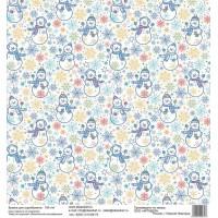 Бумага для скрапбукинга 30*30 см арт.  3793 180 г./м.кв.