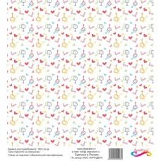 Бумага для скрапбукинга 30*30 см арт.  3984 180 г./м.кв.