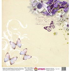 Бумага для скрапбукинга 30*30 см арт. 3120 180 г./м.кв.
