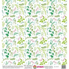 Бумага для скрапбукинга 30*30 см арт. 321231 180 г./м.кв.