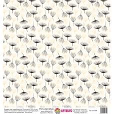Бумага для скрапбукинга 30*30 см арт.  321309 180 г./м.кв.