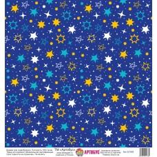 Бумага для скрапбукинга 30*30 см арт.  321682 180 г./м.кв.