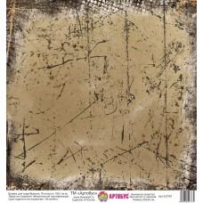 Бумага для скрапбукинга 30*30 см арт.  323761 180 г./м.кв.