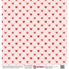 Бумага для скрапбукинга 30*30 см арт.  3953 180 г./м.кв.