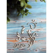 Чипборд картонный Цветок Арт.Ч0046