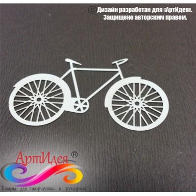 """Чипборд картонный """"Велосипед  №1"""" Арт. Ч0027"""