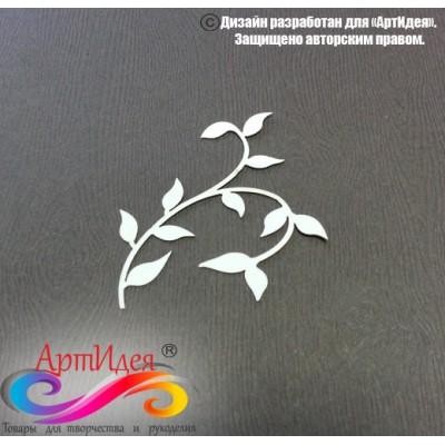 "Чипборд картонный ""Узор №1"" Арт. Ч0019"