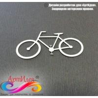"""Чипборд картонный """"Велосипед  №2"""" Арт. Ч0028"""