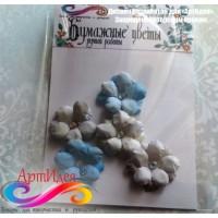 """Бумажные цветы """"АртИдея"""" Арт.4087"""
