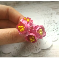 """Цветы из бумаги ручной работы для скрапбукинга """"АРТОБУС"""" Арт.4403"""