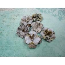 """Цветы из бумаги ручной работы для скрапбукинга """"АРТОБУС"""" Арт.4086"""