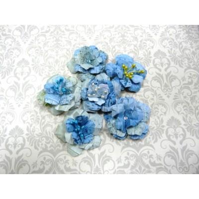 """Цветы из бумаги ручной работы для скрапбукинга """"АРТОБУС"""" Арт.4112"""