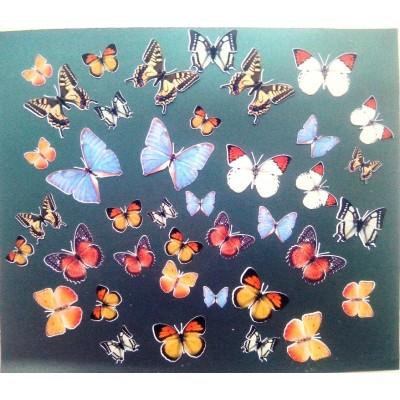 """Вырубки для скрапбукинга """"Бабочки"""" арт. 2808"""