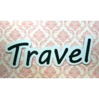 """Вырубки для скрапбукинга """"travel"""""""